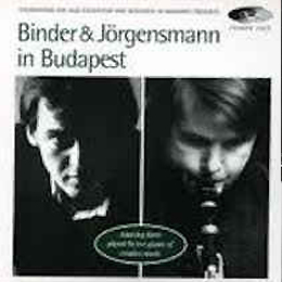 Binder and Jörgensmann In Budapest 1989